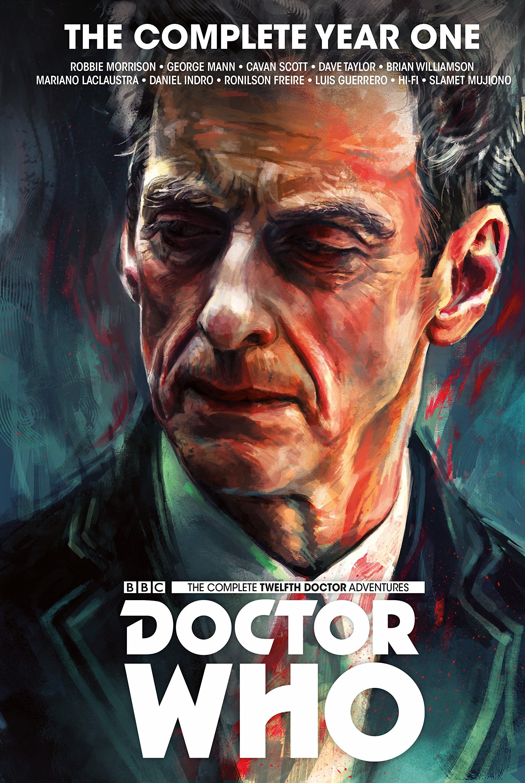 Doctor Who The Twelfth Doctor Complete Year One Amazonde Robbie