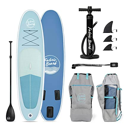 FabricBoard 10 Tabla de Paddle Surf Hinchable 305x77x15cm ...