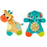 Bright Starts Snuggle & Teethe Toy (One toy,...