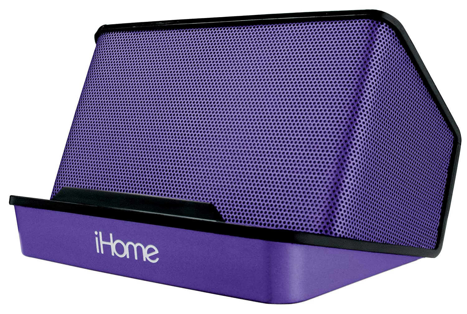 iHome Portable Rechargeable Stereo Speaker System - Purple Sound Design Inc. iHM27UC