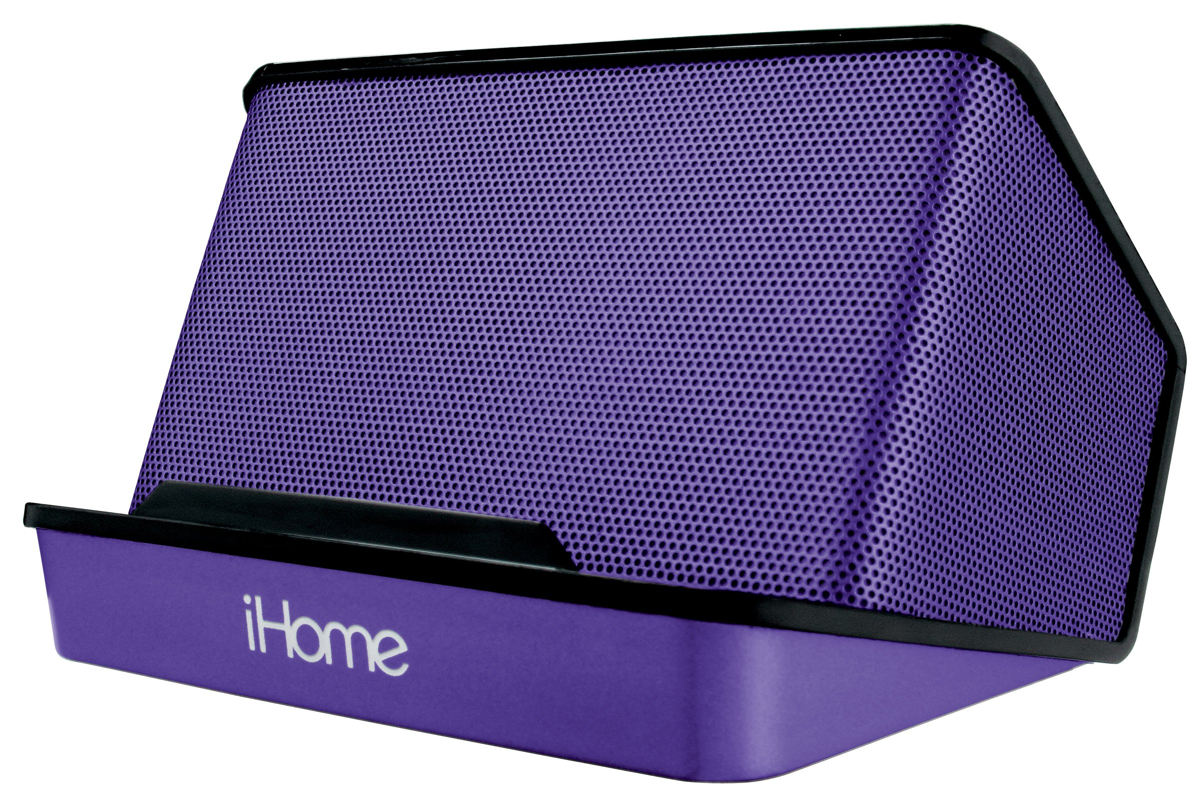 iHome Portable Rechargeable Stereo Speaker System - Purple by iHome
