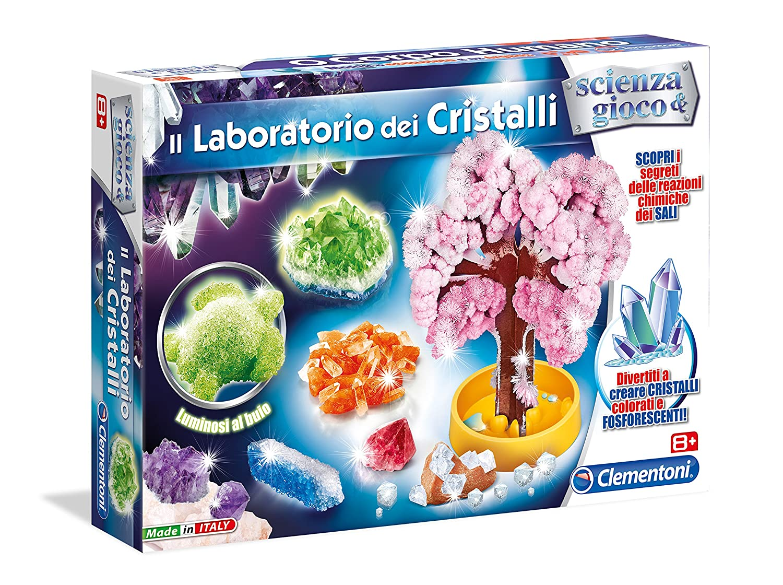 Bien-aimé Clementoni 13195 - Scienza e Gioco Il Laboratorio Dei Cristalli  MT93