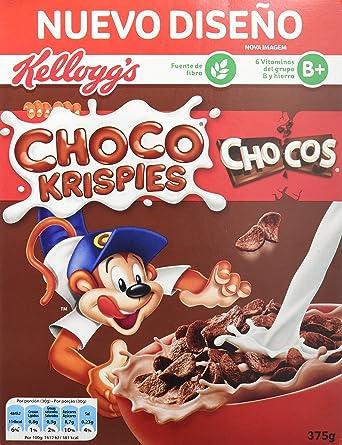 Chocos - Cereales, 375 g - [Pack de 4]: Amazon.es: Alimentación y bebidas
