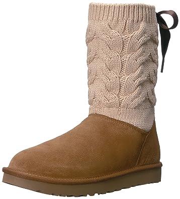 UGG Women's Kiandra Ankle Bootie, Chestnut, ...
