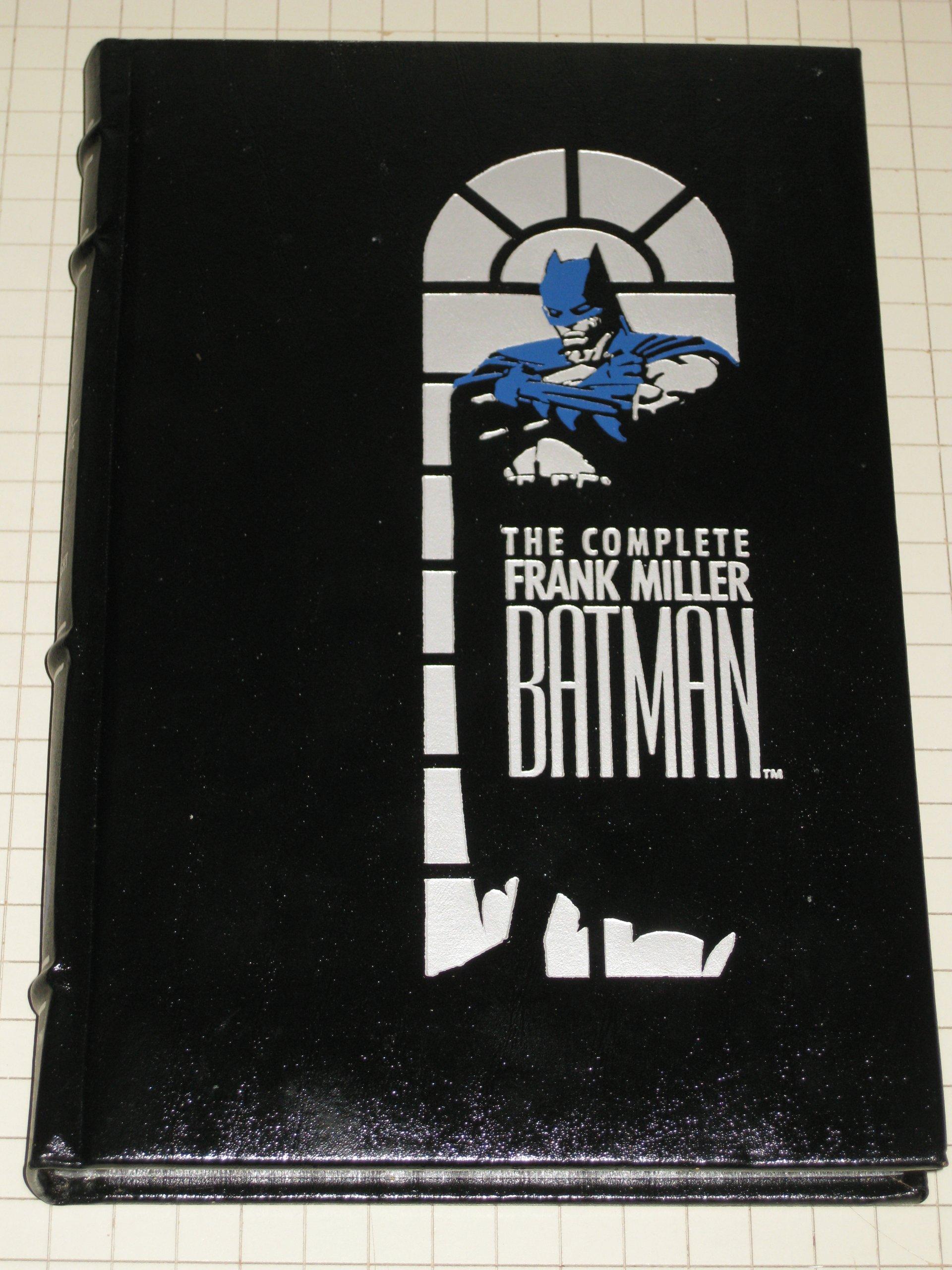 The Complete Frank Miller Batman, Miller, Frank