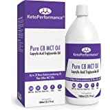 Premium C8 MCT Oil | Boosts Ketones 3X More Than Other MCTs | Highest Purity of C8 MCT Available with 99.3% Purity | Pure Caprylic Acid Triglycerides | Paleo & Vegan Friendly | Gluten Free | BPA-Free 1000ml Bottle | Ketosource®