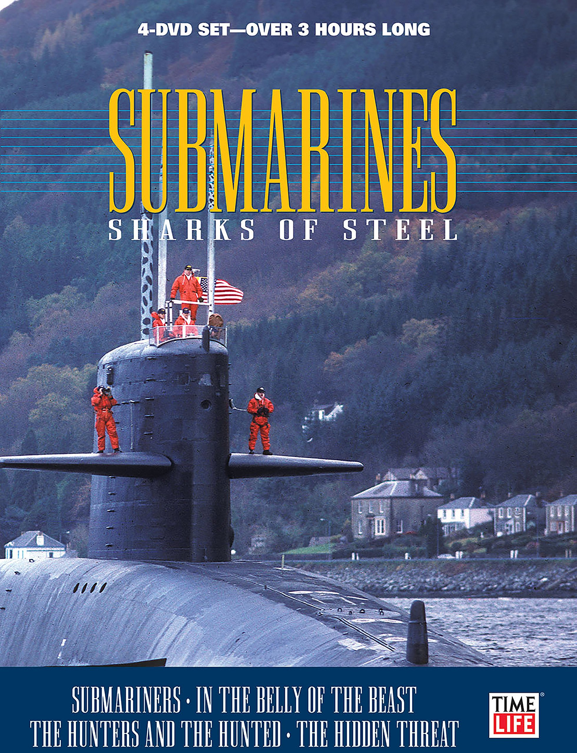 Submarines: Sharks of Steel (4DVD) by Time Life