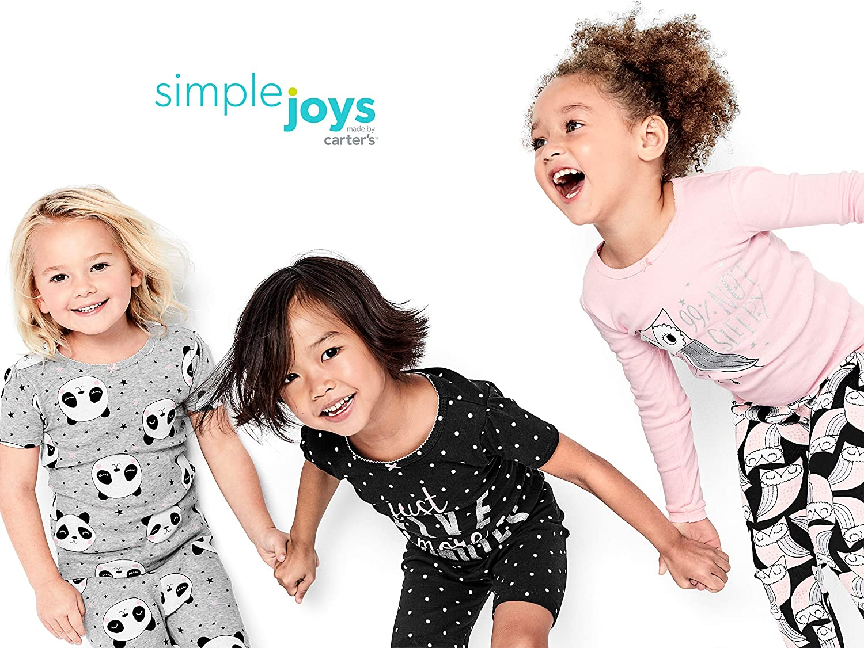 Simple Joys by Carters B/éb/é gar/çon 6-piece Snug Fit Cotton Pajama Set