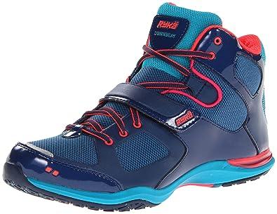 Ryka Downbeat Damen Fitnessschuhe Sport Sneaker Tanzen Schuhe Blau