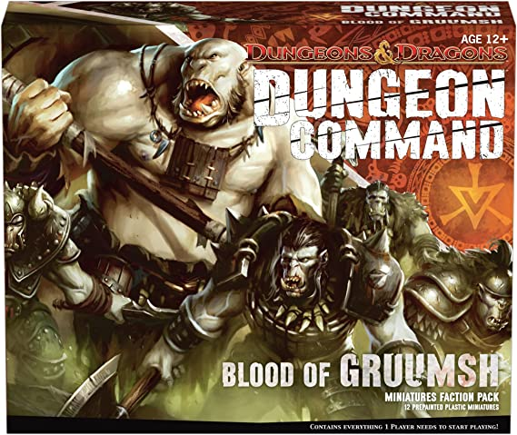 Dungeon Command: Blood of Gruumsh: A Dungeons & Dragons Expansion Pack: Wizards of the Coast: Amazon.es: Juguetes y juegos