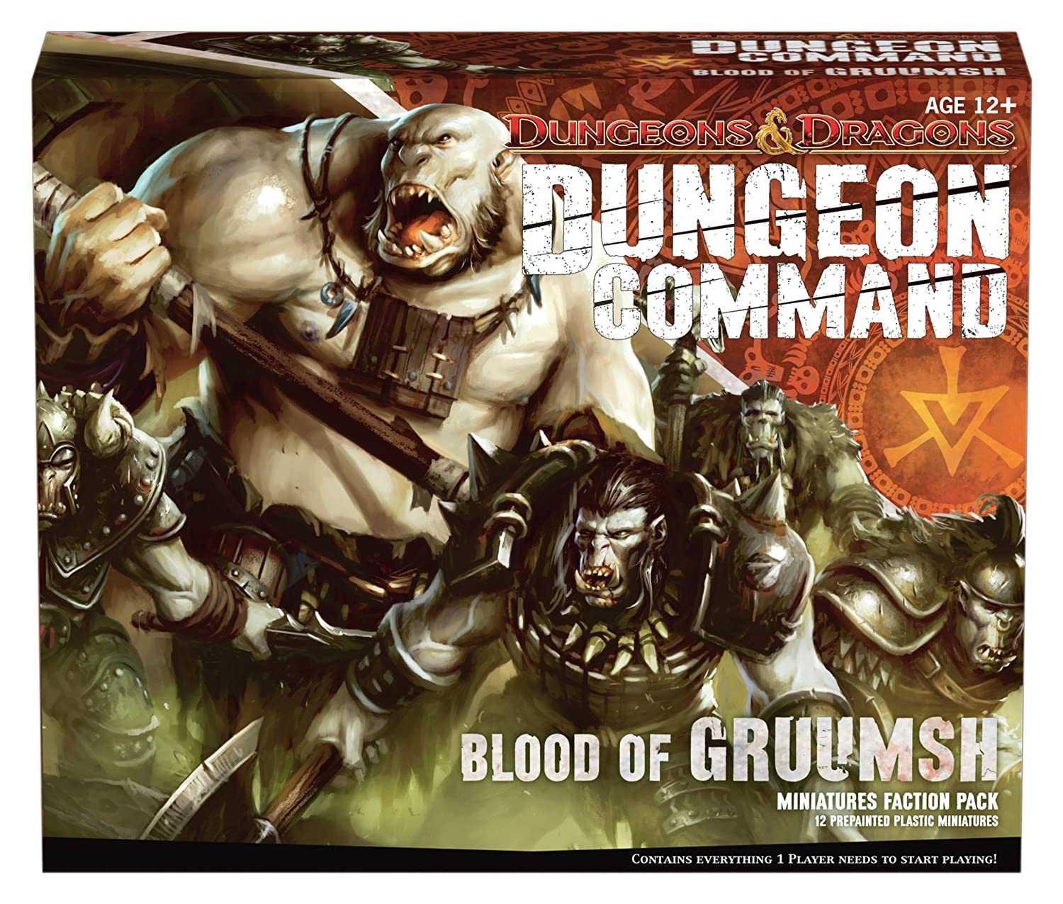 Wizards of the Coast 398690000 - Dungeon Command - Blood of Gruumsh, Brettspiel