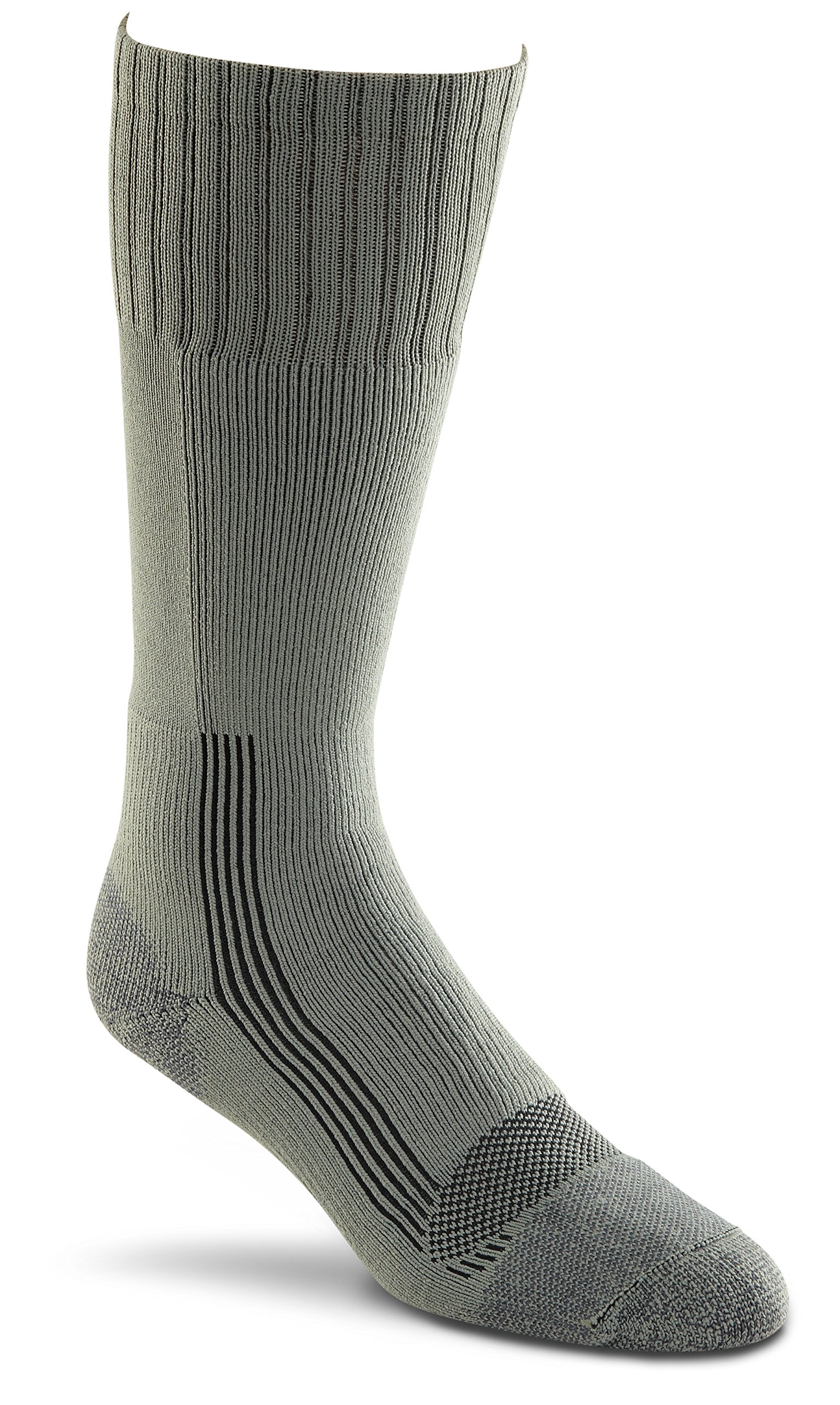 Fox River Adult Wick Dry Maximum Mid-Calf Boot Sock - Small - Foliage Green (Pack of 2) by FoxRiver