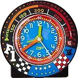 Baby Watch - Formule 1 - Réveil Garçon - Quartz Pédagogique - Cadran Bleu