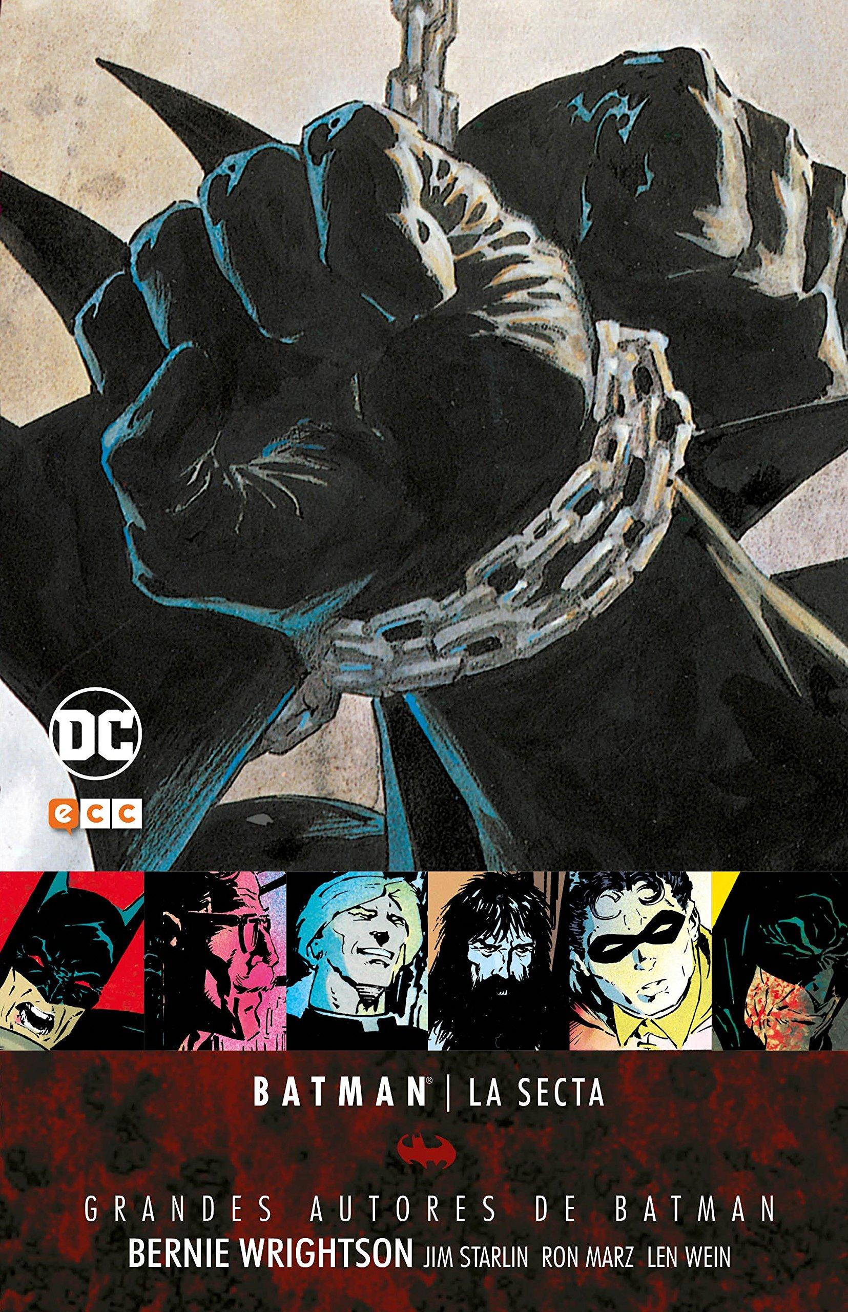 Grandes autores de Batman: Bernie Wrightson - La secta 2a ...