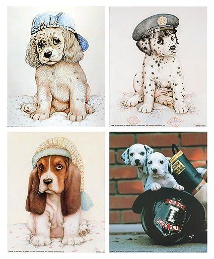 Amazoncom Funny Dalmatian Puppies Dog Animal Kids Room Four 8x10