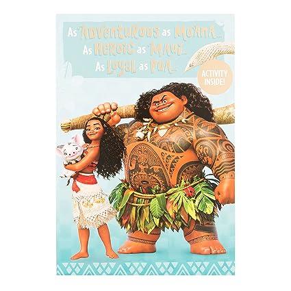 Amazon Disney Moana Birthday Card Office Products
