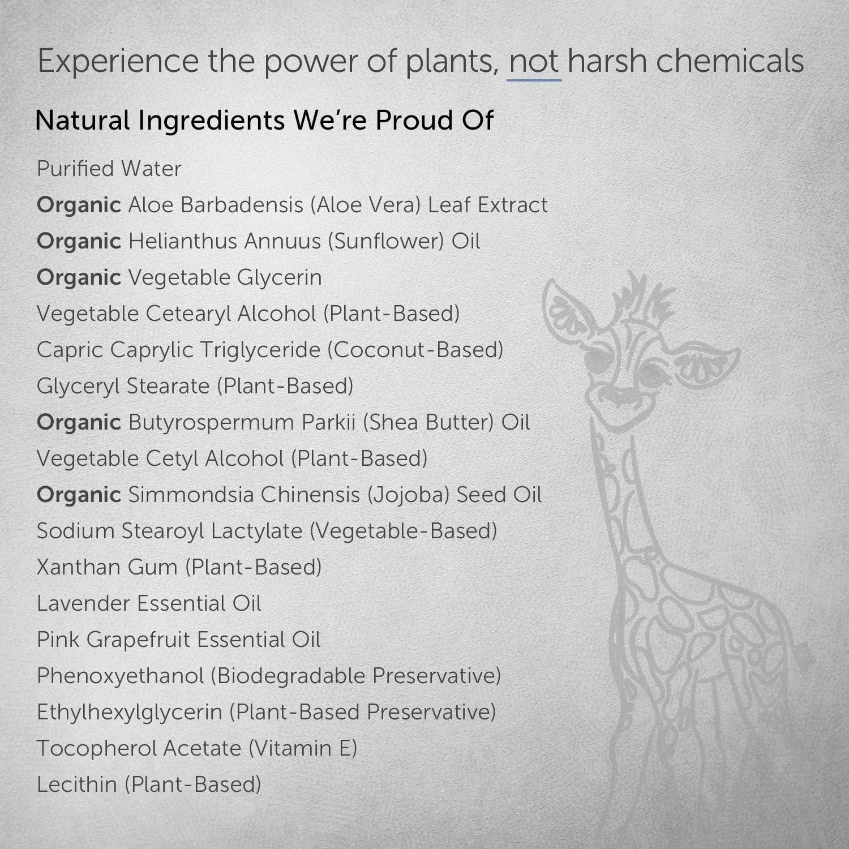 Puracy Baby Lotion, Organic Moisturizer for Infants & Newborns, Natural Calming Lavender & Grapefruit for Sensitive Skin, 12 Ounce
