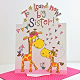 To a Brand New Big Sister Card Designed by Rachel Ellen
