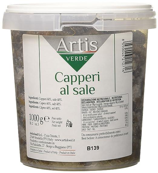 Capperi al Sale Mezzanella Calibro 13 Secchiello Kg 1-Peso Netto Kg 1   Amazon.it  Alimentari e cura della casa e6d8562cfe5a