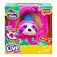 Deals on Little Live Pets Rollo The Sloth, Bendable Arms, Movement
