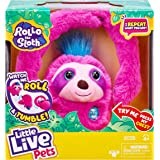 Little Live Pets Rollo The Sloth - Bendable Arms, Movement, Reacts to Sounds, and Repeats What You say. Funny Toy Gift…
