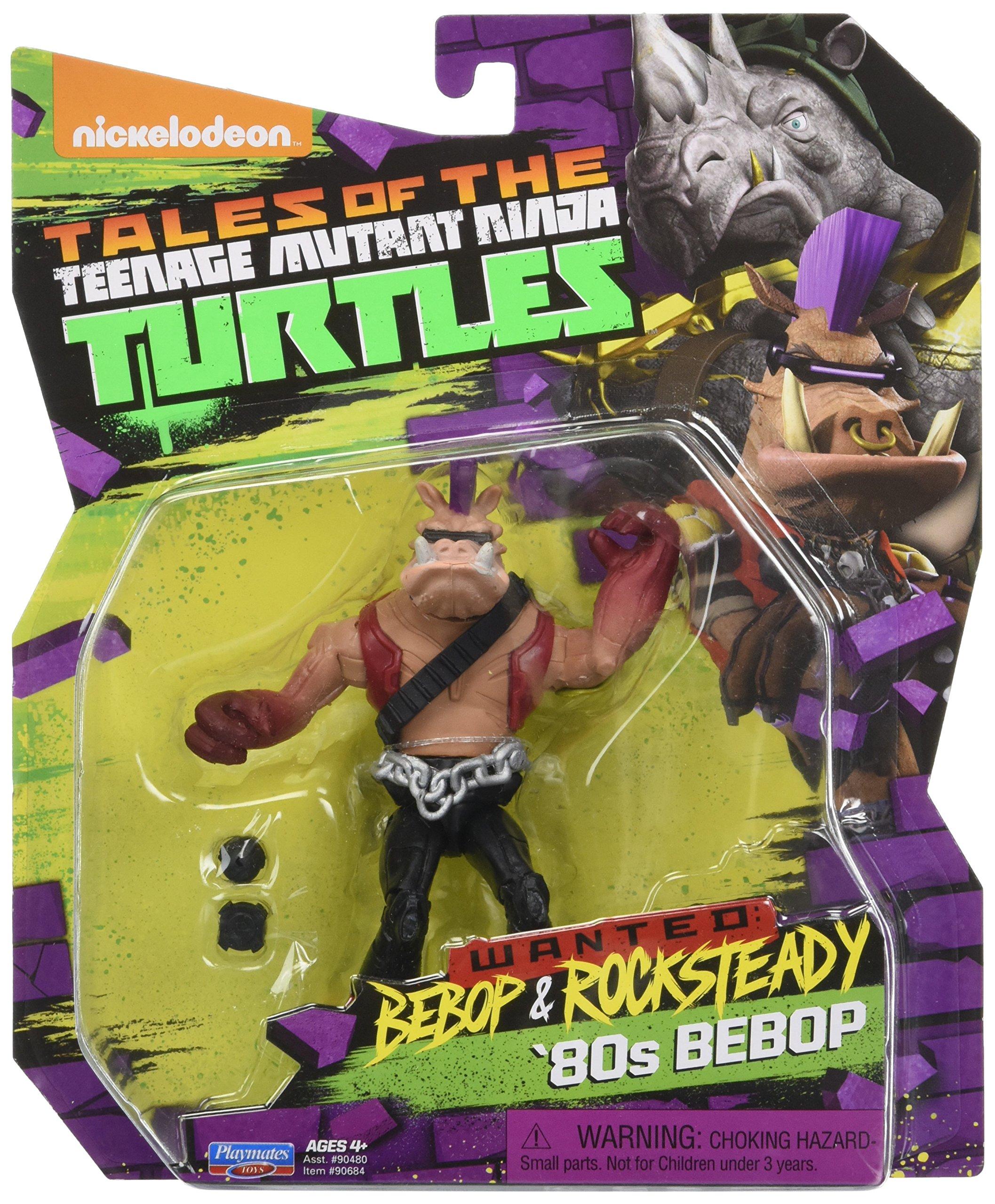"""Playmates Nickelodeon TMNT Teenage Mutant Ninja Turtles BEBOP figure 5/"""" OLD A2"""
