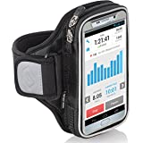 Sporteer Entropy E8 Running Armband - iPhone 11 Pro Max, Xs Max, iPhone 11, XR, 8 Plus, 7 Plus, Galaxy S10+, S10, Note 10, 9, 8, S9 Plus, S8 Plus, Pixel 4 XL, 3 XL, LG, Moto - FITS Cases