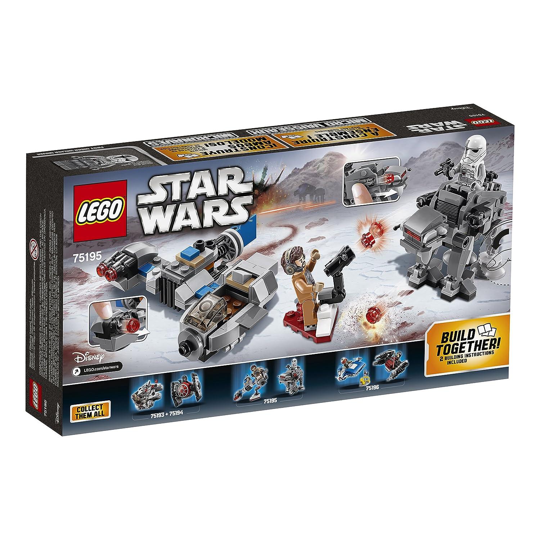 Amazon Lego Star Wars The Last Jedi Ski Speeder Vs First