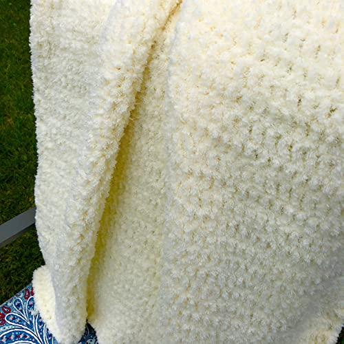 1168c47a7b Image Unavailable. Image not available for. Color  Handmade Pale Yellow  Baby Blanket
