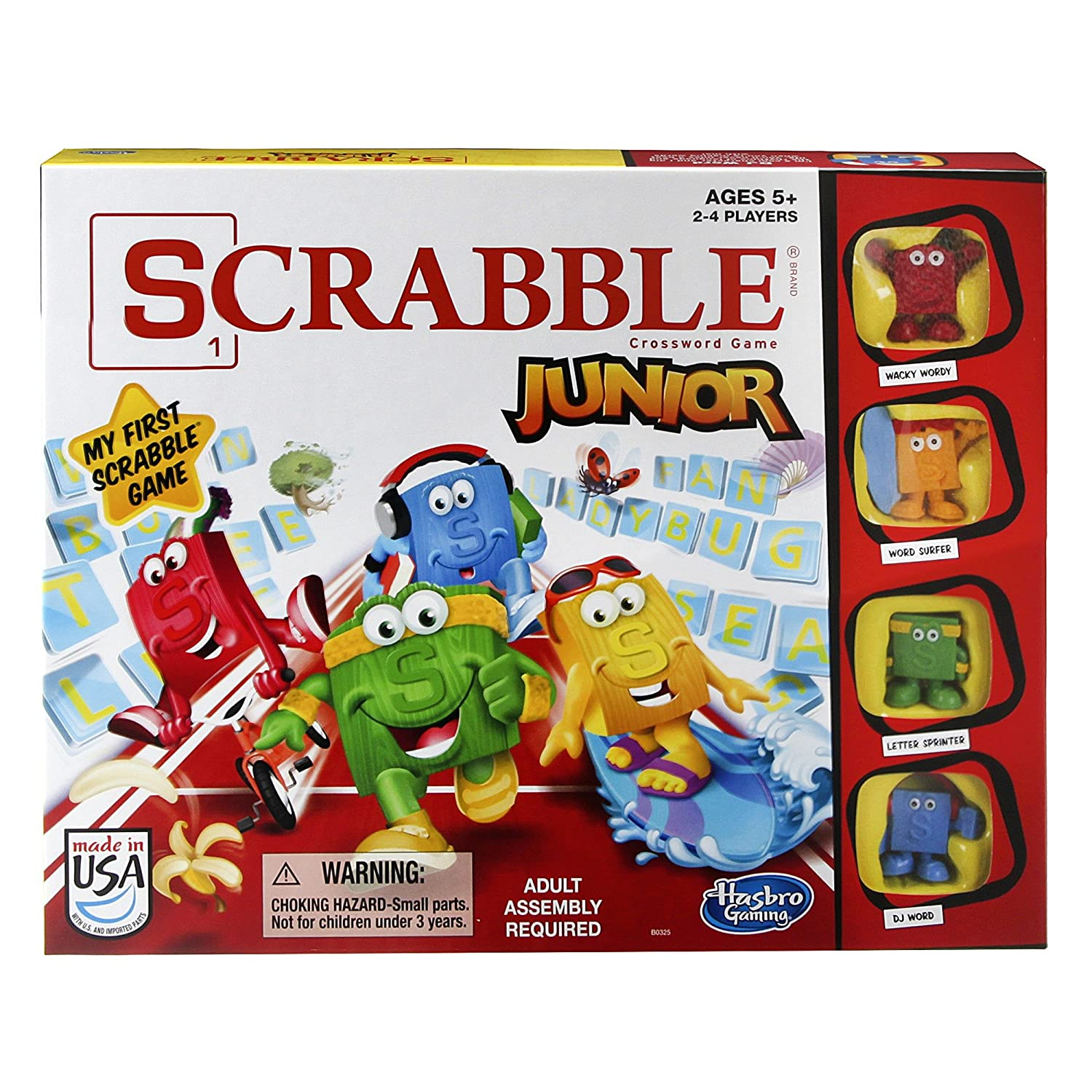 Amazon Scrabble Junior Game Toys & Games