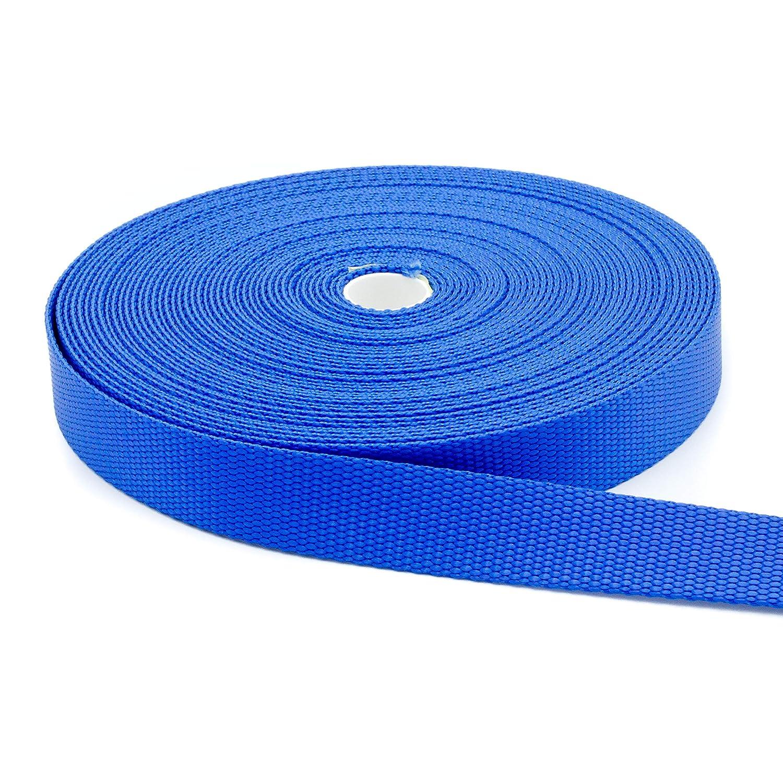 5 Yards 1 Strap Webbing Plus Medium Weight White 1 Inch Width Nylon Webbing