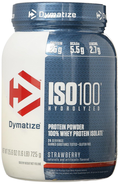 Amazon.com: Dymatize ISO 100 Whey Protein Powder Isolate, Gourmet ...