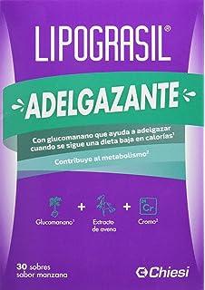 Lipograsil Adelgazante – Saciante con ingredientes de origen natural – 30 sobres sabor manzana
