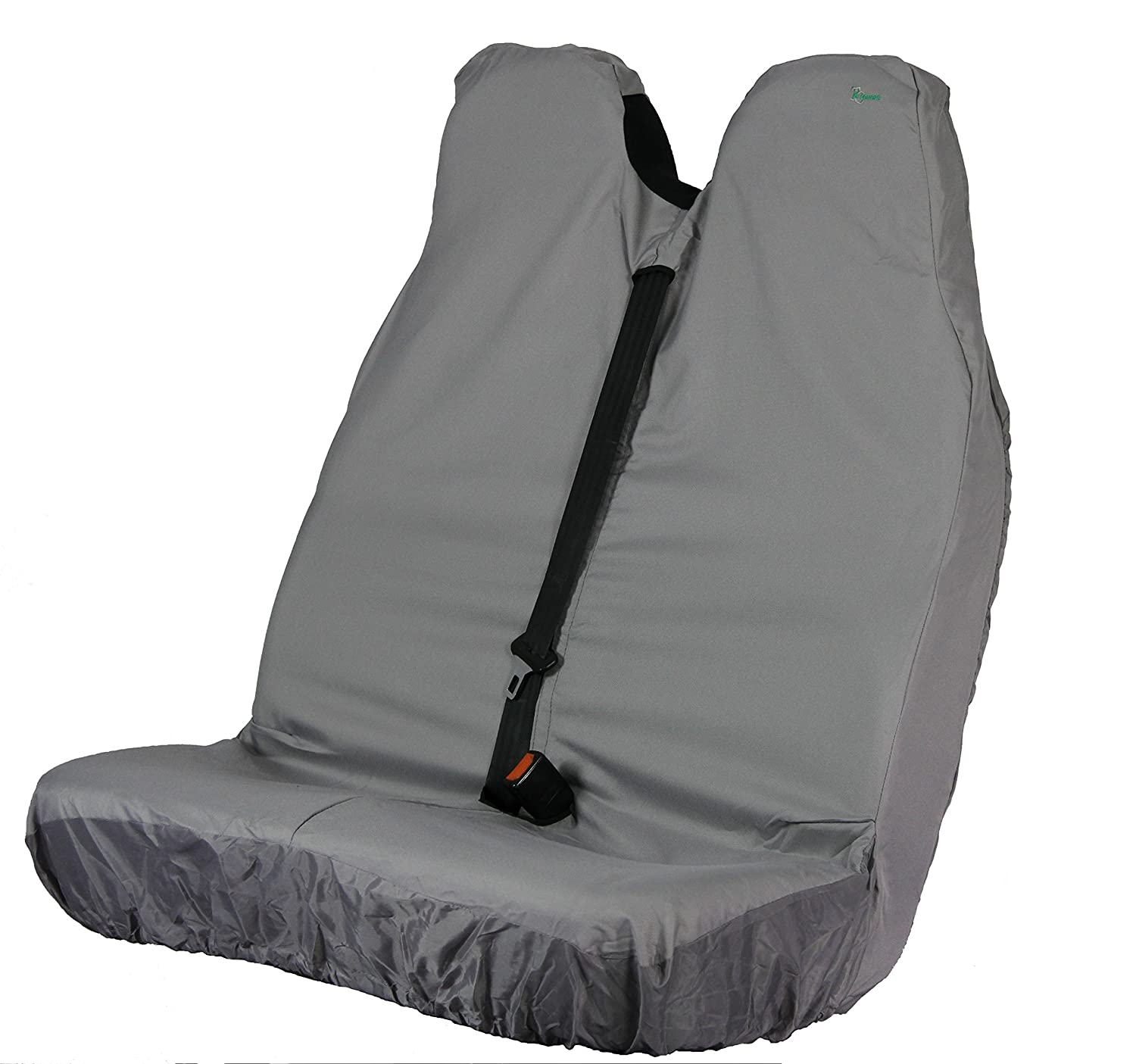 Town and Country Covers Van Stretch Double Passenger Front Seat Cover Grey