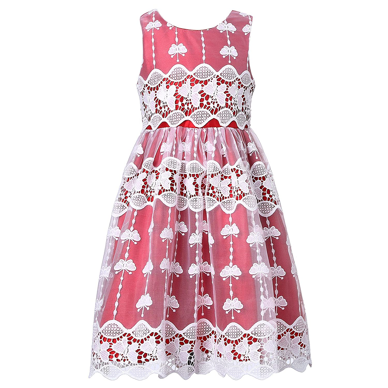 Richie House Girls' Sweet Party Dress Size 2-8Y RH2252