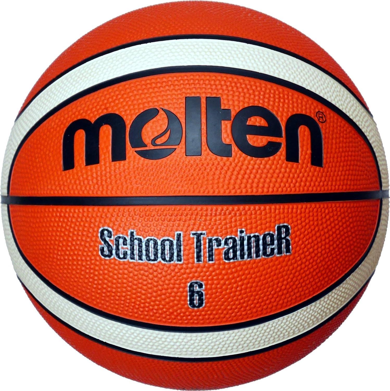 MOLTEN balón de Baloncesto, Orange/Ivory, 6, BG6-ST: Amazon.es ...