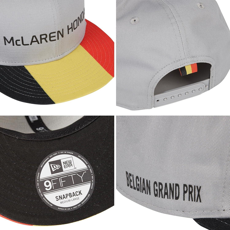 ... new era 576bf bf117  shopping mclaren honda special edition belgium cap  hat 9fifty amazon clothing 09d07 b709b db200d7c2bd