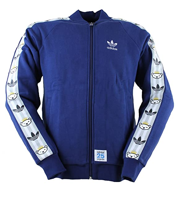 adidas Originals Track Top Chaqueta NIGO Azul S: Amazon.es ...