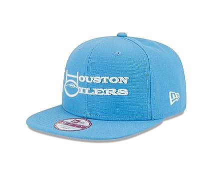 ad7bf63a2fb28 Amazon.com   New Era NFL Historic Houston Oilers Wordmark Baycik ...