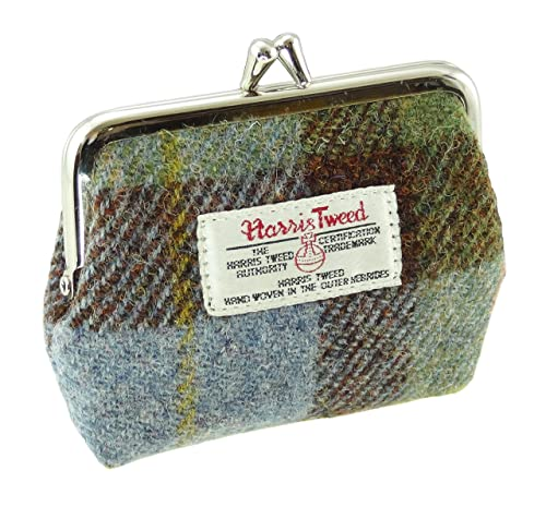COL15) - Ladies Harris Tweed Clasp Coin Purse Eigg LB2035 ...