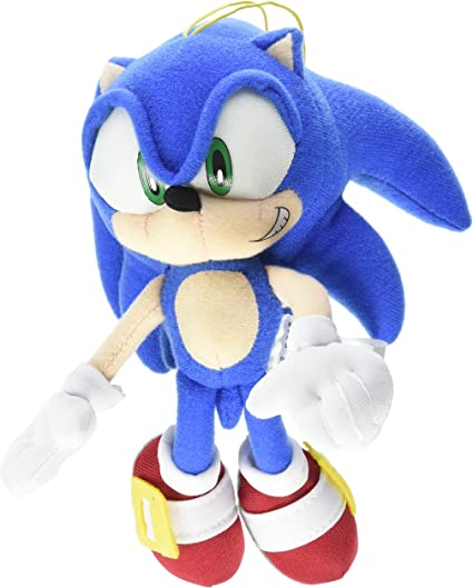 Amazon Com Great Eastern Entertainment Sonic The Hedgehog Mini 7 75 Plush Toys Games