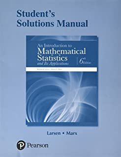 Amazon student solutions manual for introduction to students solutions manual for an introduction to mathematical statistics and its applications fandeluxe Image collections
