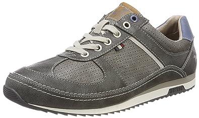 4125-301-20, Sneakers Basses Homme, Gris (Dunkelgrau), 43 EUMustang