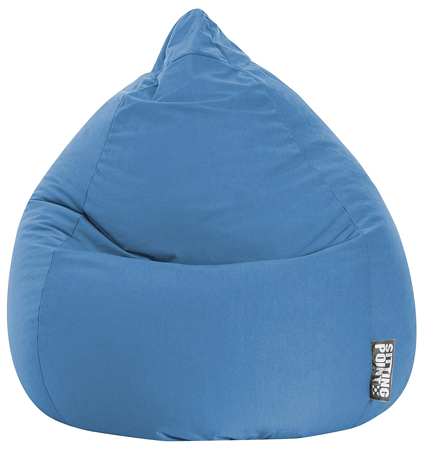 Pouf Easy, Tessuto, arancione, S Sitting Point