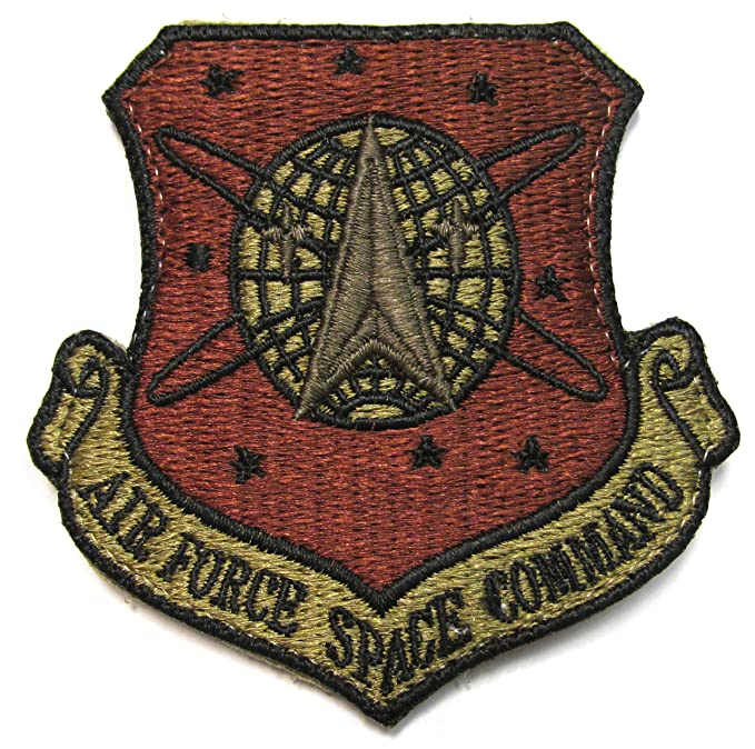 Air Force Space Command OCP Patch AFSPC Spice Brown