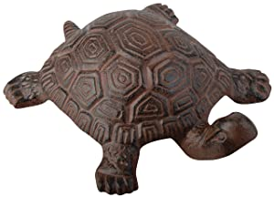 Esschert Design Cast Iron Decorative Turtle, Large