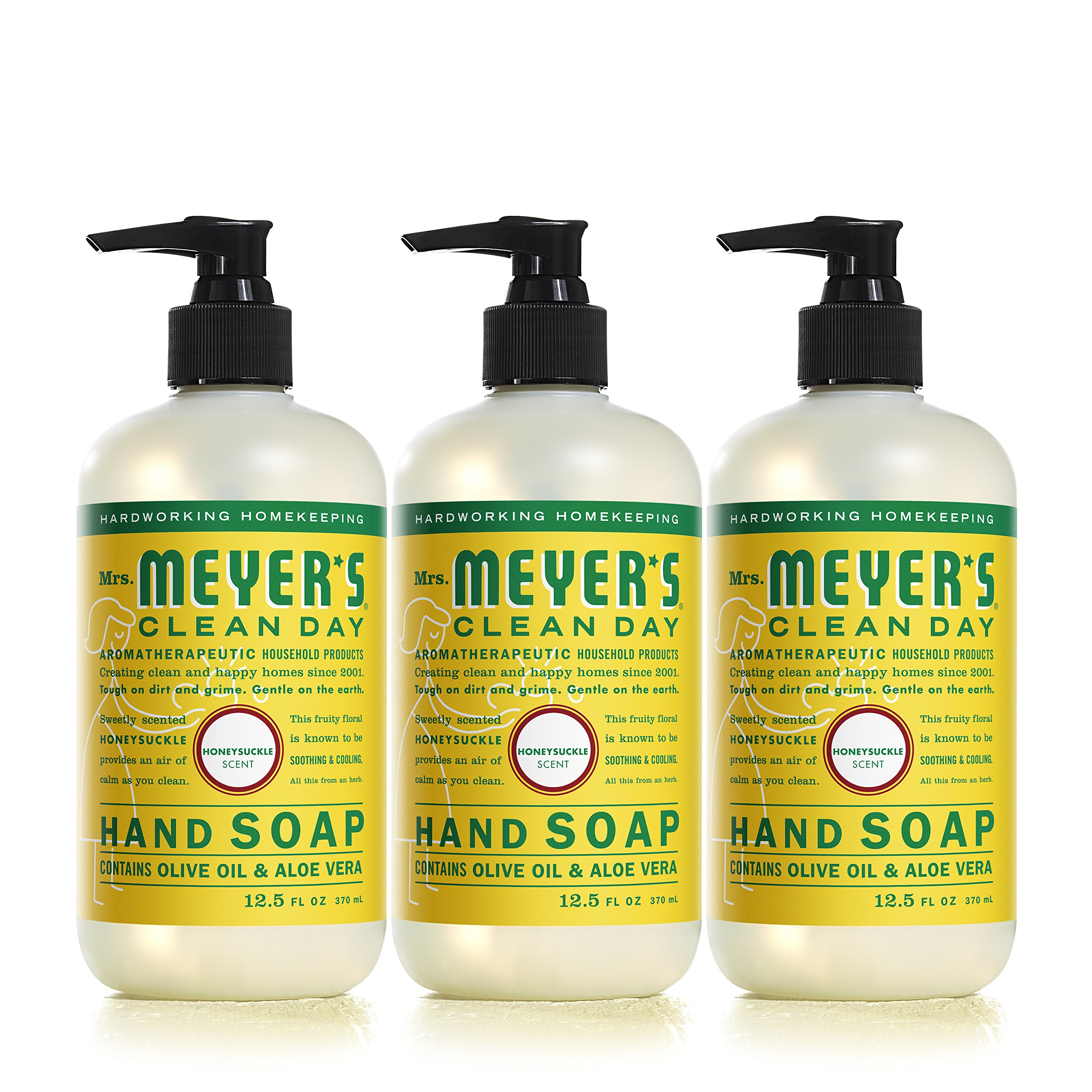 Mrs. Meyers Clean Day Hand Soap, Honeysuckle, 12.5 fl oz