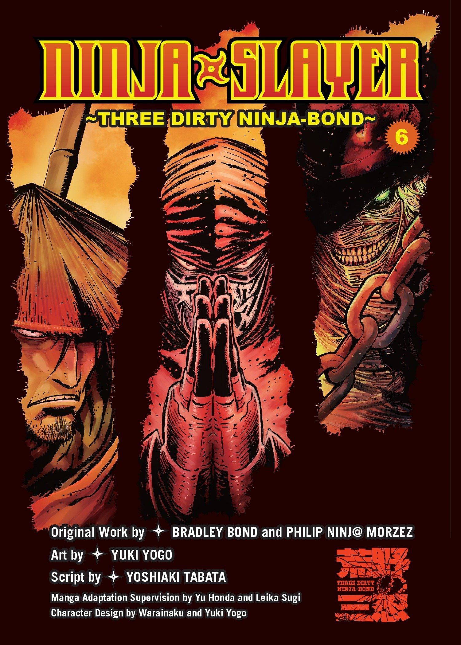 Amazon.com: Ninja Slayer, Part 6: Three Dirty Ninja-Bond ...