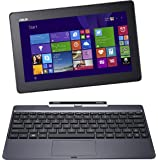 """ASUS Transformer Book 10.1"""" Detachable 2-in-1 Touchscreen Laptop (64GB) with Windows 8 - Red"""