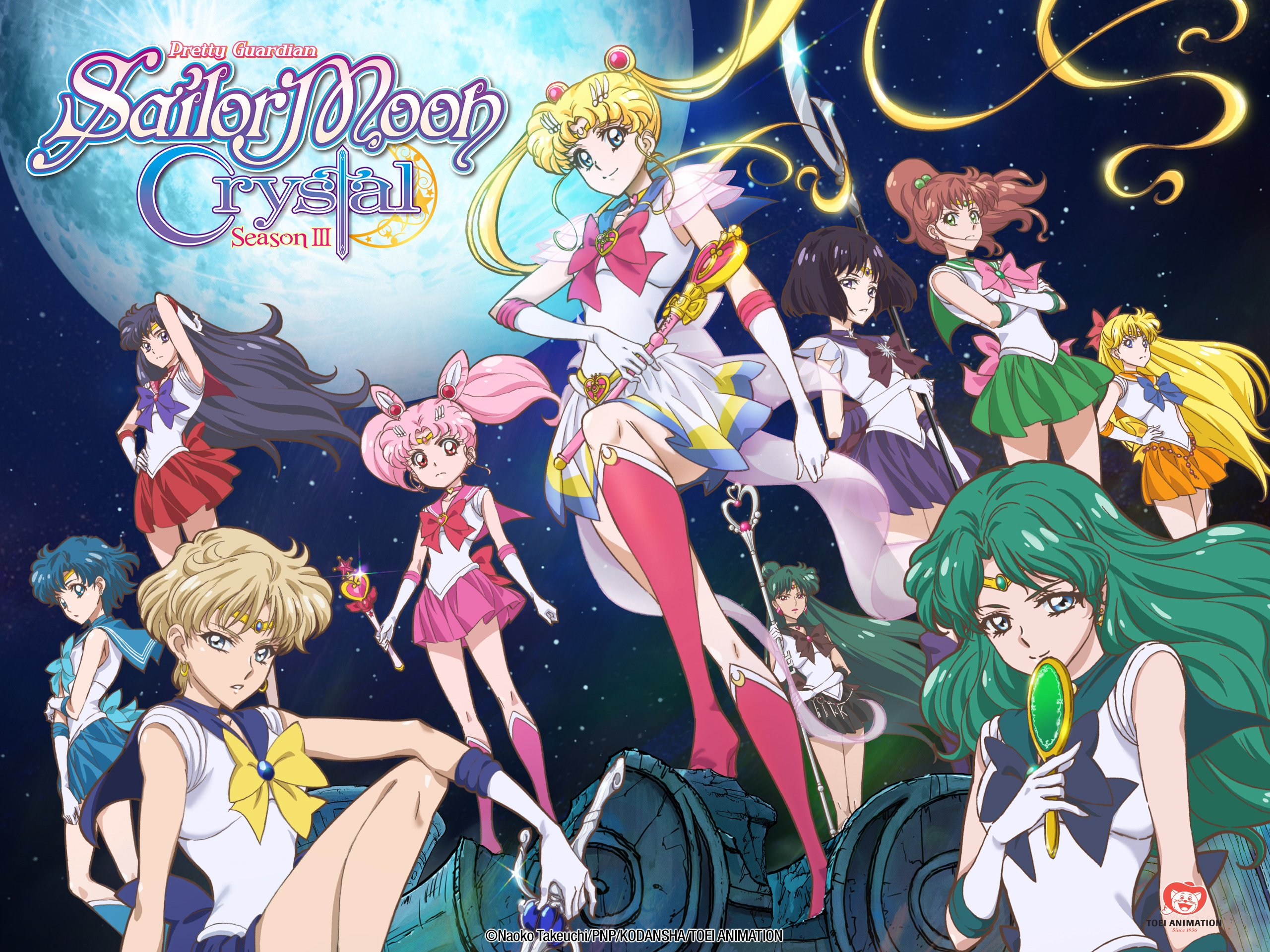 Amazon com: Sailor Moon Crystal (English Dub) - Season 1